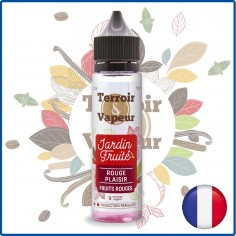 FRUITS ROUGES PLAISIR - TERROIR & VAPEUR - 50 ml