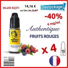 FRUITS ROUGES - LE VAPOTEUR BRETON