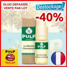 LA MENTHE CHLOROPHYLLE DÉSTOCKAGE - PULP