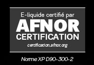 AFNOR certification liquides D'lice