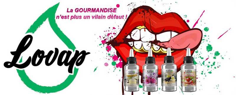 Lovap, gamme de e-liquides premium au pays du fruit