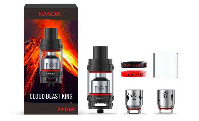 TFV12 Smok® - Contenu du kit - Ecig'N Vape