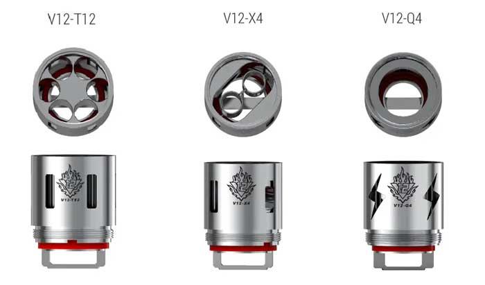 Résistances V12 Smok® - Ecig'N Vape